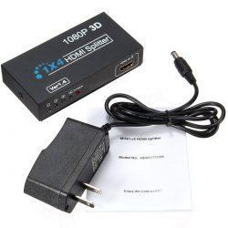 HDMI Splitter 1080P 3D 4 Port