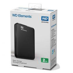 HDD External WD 2TB Elements