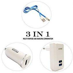 Charger Mobil LDNIO S100 3IN1